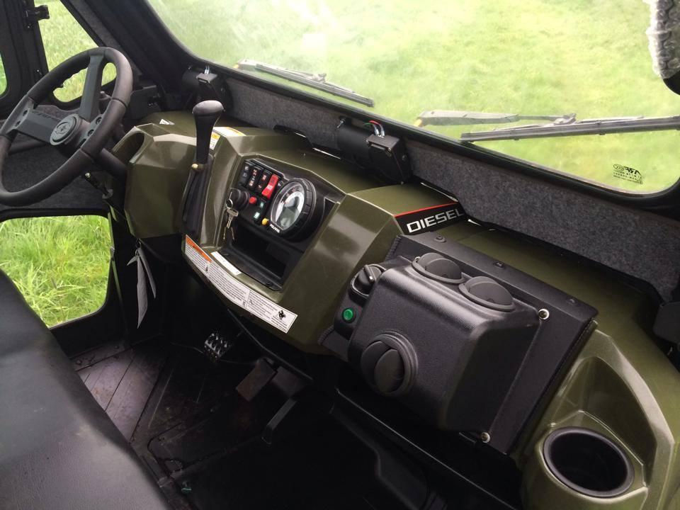 Polaris Ranger Diesel with in cab heater