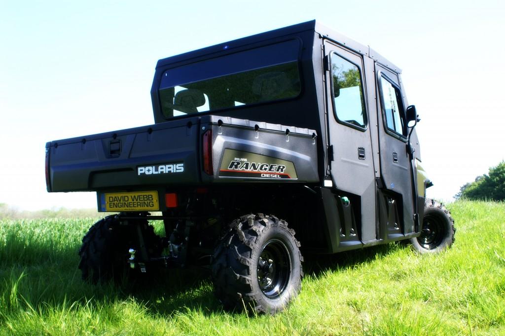 Polaris Ranger Crew with Pro Steel Cab