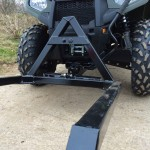 Pallet Forks custom built for Polaris Sportsman quad.