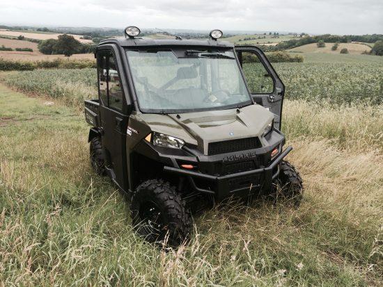Ranger Diesel 1000 featuring Polaris and custom accessories