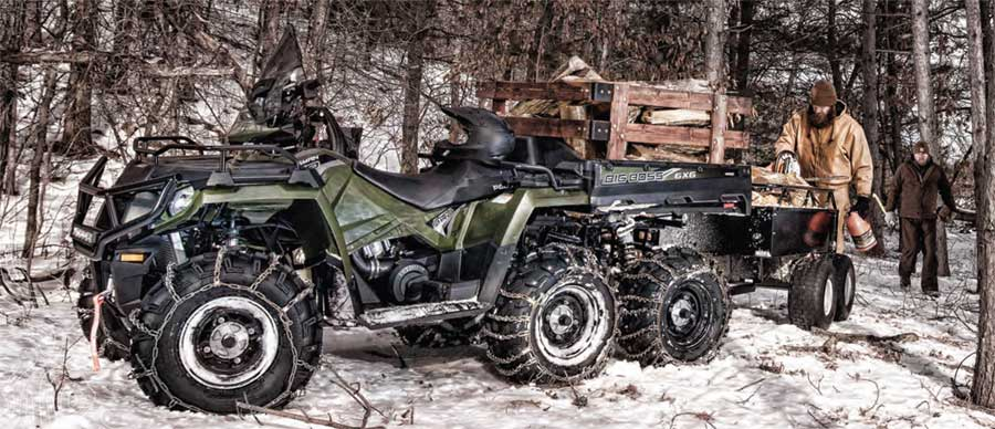 Sportsman 6x6 570 Big Boss