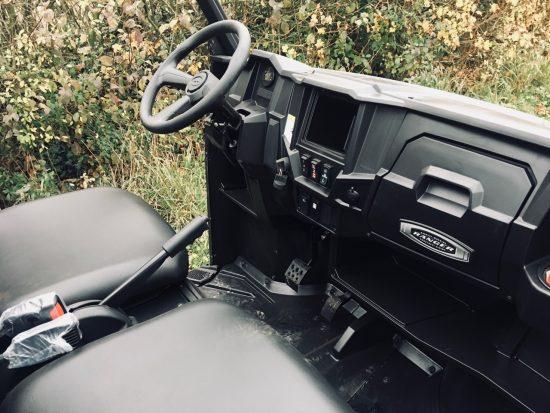 Polaris Ranger EV interior