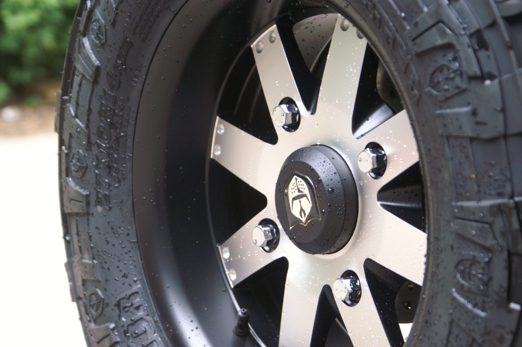 Pro Armour Polaris alloy wheels